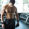 Builder at a gym After Training with Shake