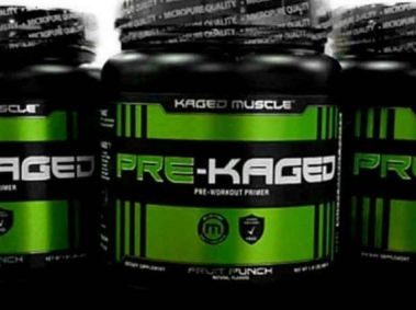 Three Pre-Kaged Thermogenic Pre-Workout Drink