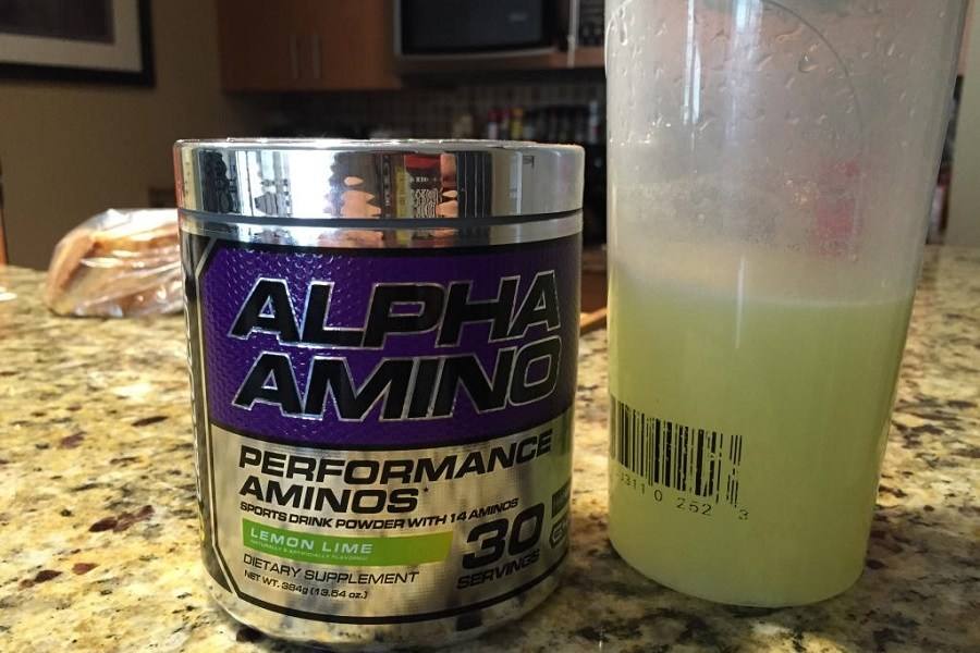Cellucor Alpha Amino Post-Workout Supplement Shake