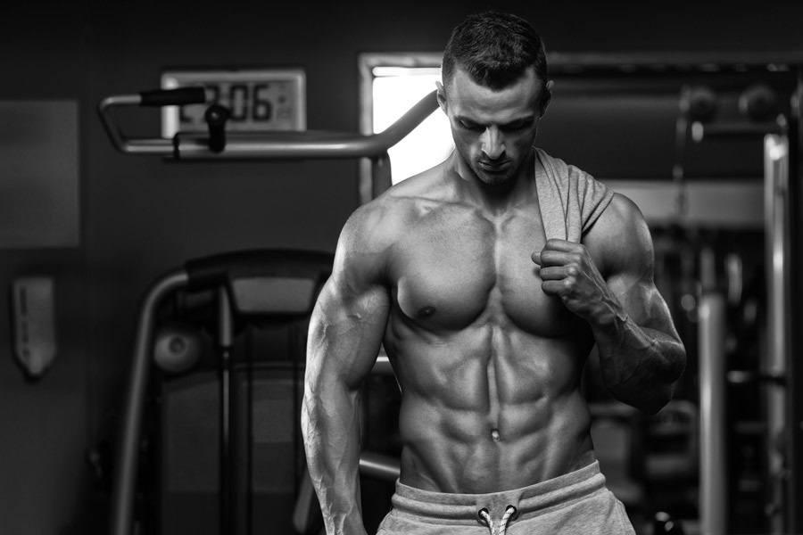 BodyBuilder in a Gym